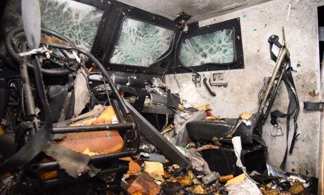 Com tiroteio e explosão, ataque a carro-forte na BR-232 deixa feridos1