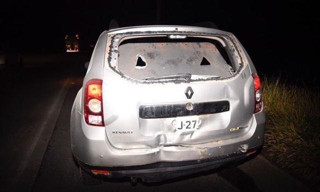 Com tiroteio e explosão, ataque a carro-forte na BR-232 deixa feridos4