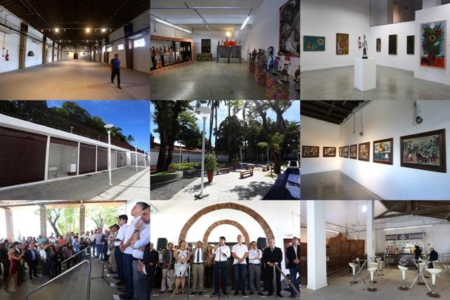 Governo de Pernambuco entrega novo Centro Cultural Mercado