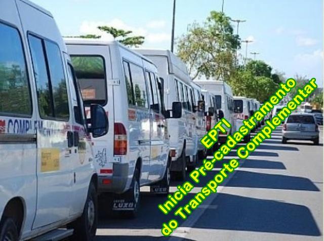Resultado de imagem para EPTI inicia pré-cadastramento do Transporte Intermunicipal de Passageiros